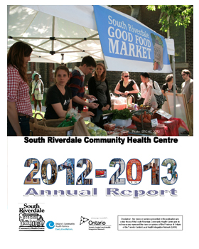 Cover for SRCHC Annual Report 2012-2013