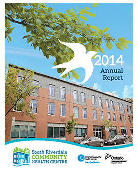 Cover for the SRCHC Annual Report 2014