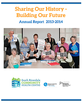 Cover for SRCHC Annual Report 2013-2014