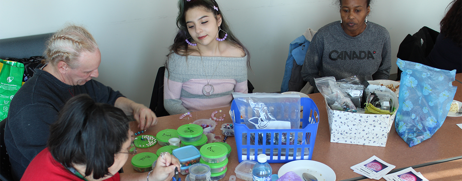 Drop in breakfast with jewellery making