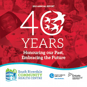 SRCHC Annual Report Cover 2015