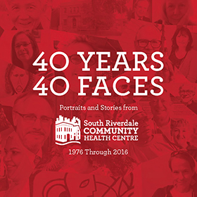 40 Years 40 Faces Book Cover