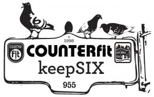 COUNTERfit keepSIX Logo