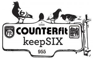 COUNTERfit keepSIX Logo