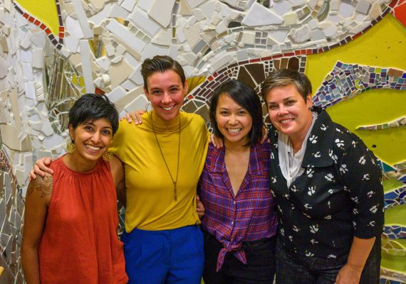 MATCH team of Shezeen, Jenna, Tiffany and Andrea.