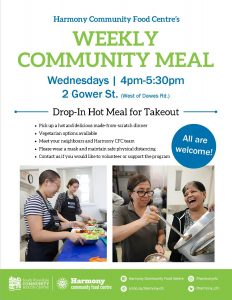 Community Meal Take Out Flyer