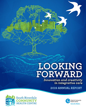 Cover artwork for 2019 Annual Report in English